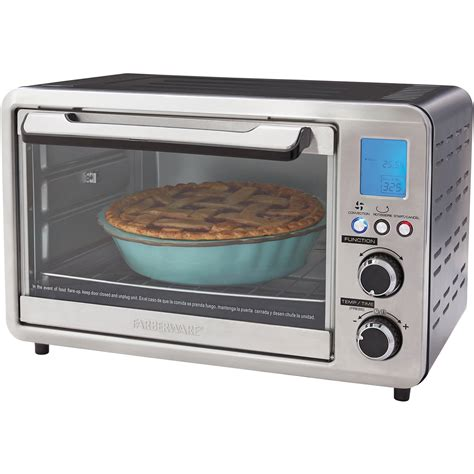 Toaster Oven Functions Digital Toaster Oven 25l Large Convection Cooking Kitchen