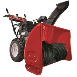 home depot snow blower yard machines 30 in 357 cc two stage electric start gas