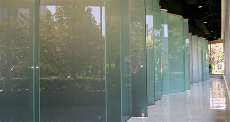 unique glass walls panels   business  office