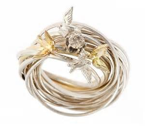 bird wedding ring carved bird wedding rings the wedding specialiststhe