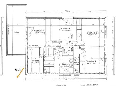 Plan De Maison Coté by Plan Maison Cot 233