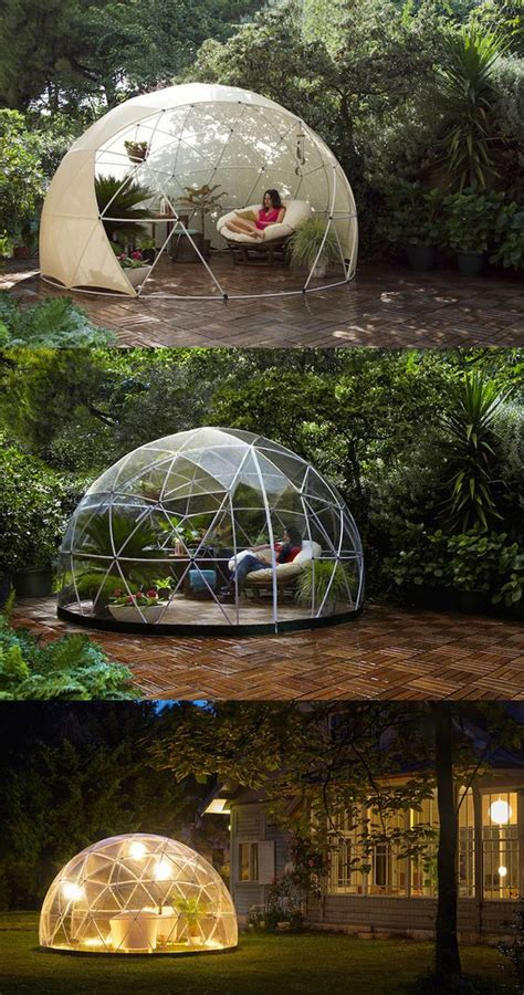 garden igloo the garden igloo is a transparent canopy for your garden