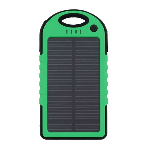 Power Bank Solar Cell 5000mah 5000mah dual usb waterproof solar power bank battery charger for cell phone ebay