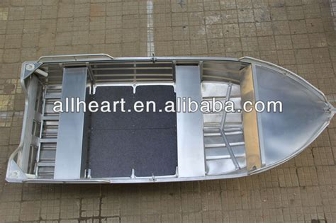 aluminum fishing boat weight 14ft all welded light weight aluminum boat buy 4 2m