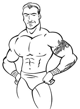 wwe christian coloring pages christian wwe drawing car interior design