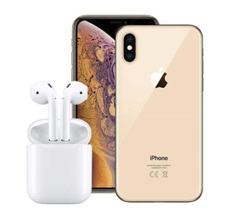 the iphone xs max 256gb airpods giveaway