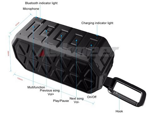 Askmeer X8 Portable Bluetooth Speaker Waterproof Ipx66 askmeer x8 portable bluetooth speaker waterproof ipx66 black jakartanotebook