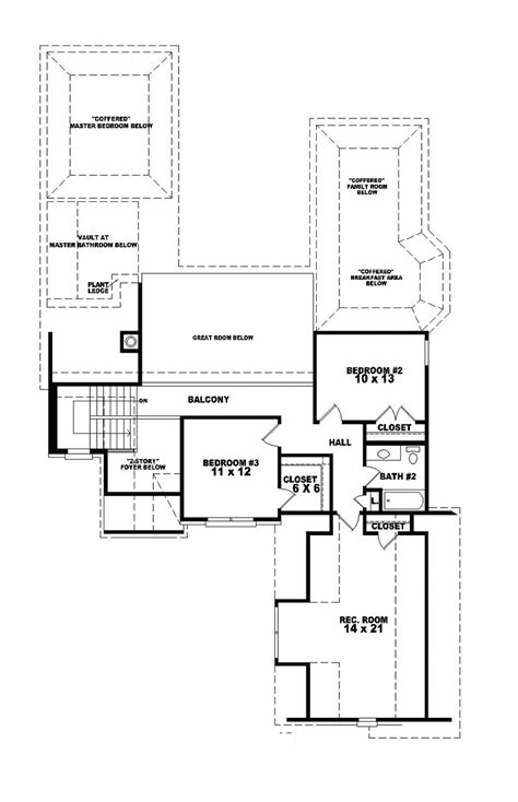 Caspian Floor Plan by Caspian Place Traditional Home Plan 087d 0648 House