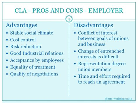 Pros And Cons Of Mba Degree by Labour Relations Mco 20150410