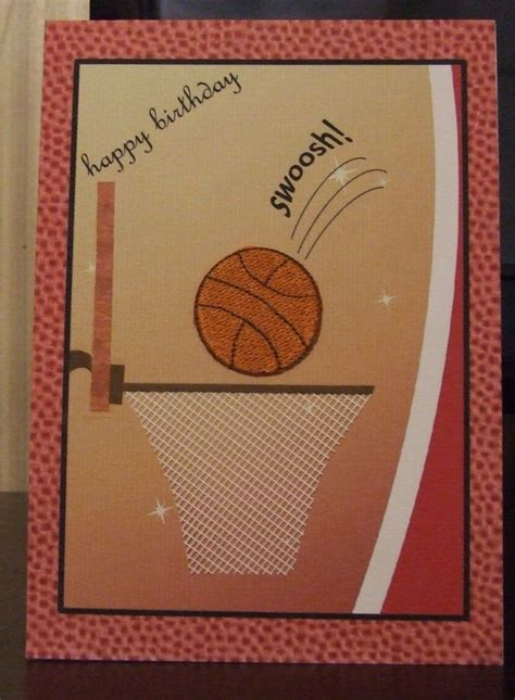 Basketball Birthday Cards Basketball Birthday Card Cards Pinterest