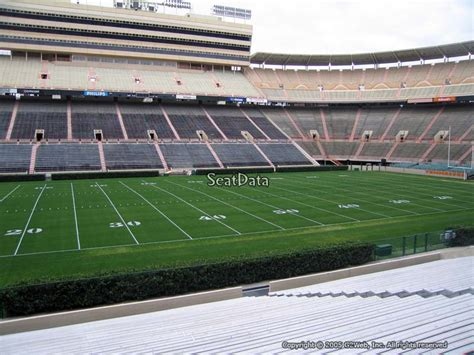 neyland stadium visitors section neyland stadium section e rateyourseats com