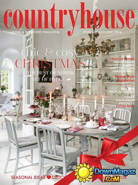 house home magazine december 2016 edition texture country house 11 12 2016 187 download pdf magazines