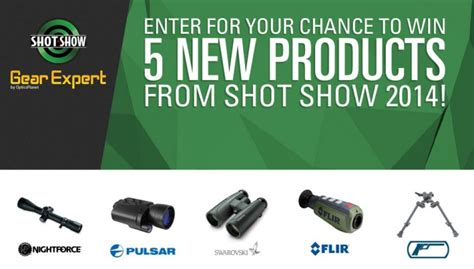 Enter To Win Sweepstakes 2014 - enter to win 5 new products from shot show 2014 gearexpert