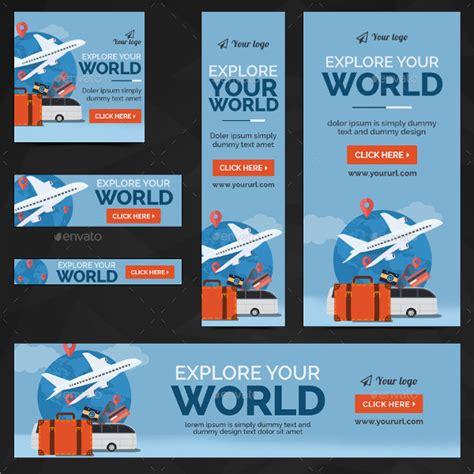 design banner tour 41 exles of banner design psd ai vector eps