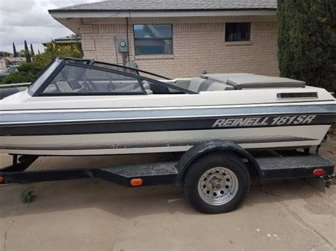 used boats for sale el paso tx 1989 reinell 181sr 3200 el paso boats for sale el