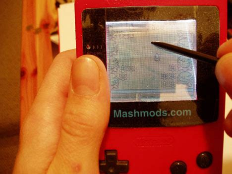 Extremely Girly Ds Mod by Touch Screen Gameboy Color Mod Brings To A Whole