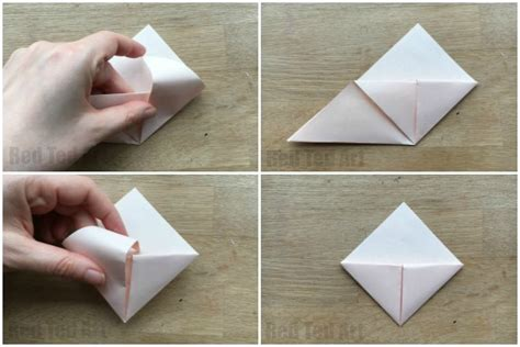 How To Make Corner Bookmarks With Paper - how to make an origami bookmark corner ted s