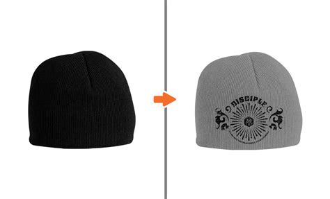 beanie template photoshop hat mockup template pack