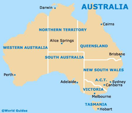 map of countries in australia australia map maps photos