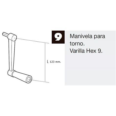 torno persiana manivela para torno persiana blanco c 243 d art 237 culo 5009513