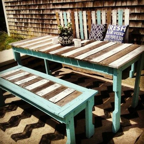Painting Patio Furniture Ideas by Pallet Furniture Ideas Painted Pallet Furniture