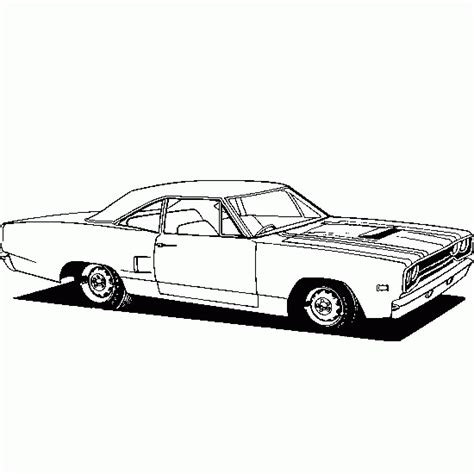 free coloring pictures of muscle cars muscle car coloring pages bestofcoloring com