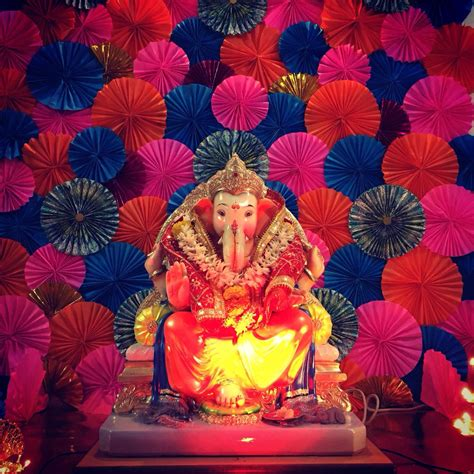 top  creative ganpati decoration ideas  home