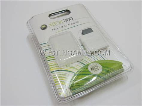 Memory Xbox xbox 360 64mb memory unit card original xbox360 memory card westingames