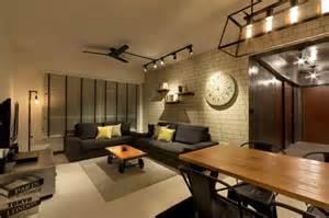 Fineline Interiors Bto Living Interior Design Industrial Modern
