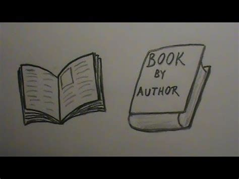drawing on the finding my way by books how to draw a book open and closed