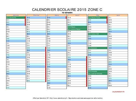 Calendrier 2016 Vacances Scolaires Zone C Calendrier Scolaire Zone C 2016 Clrdrs