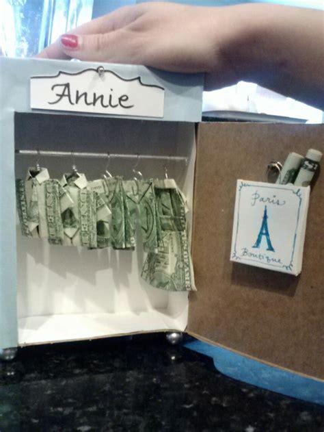 diy money gifts best ideas about gift wardrobe wardrobe money and
