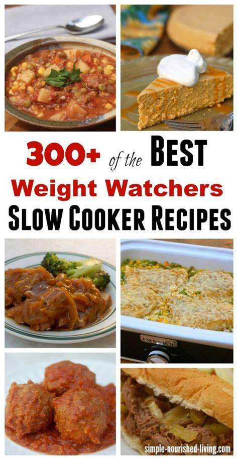 cooker cookbook the best weight watchers crock pot recipes with smart points for rapid weight loss books 1000 images about crockpot recipes on crock