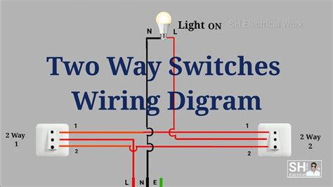 switches wiring diagram youtube
