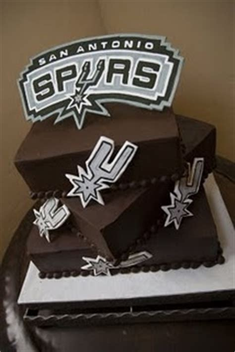 Spurs Decorations by Best 25 Spurs Cake Ideas On Basketball Cakes