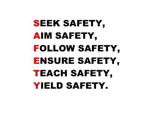 safety quotes safety quotes safety sayings safety picture quotes