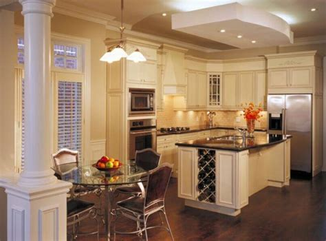 kitchen columns 20 beautiful kitchen island designs with columns
