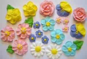 cake flower decorations decorative work sugar paste flowers for cake decoration