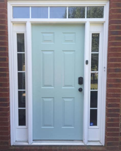 Our Front Door As The Coats Thecoatshome Painting Our Front Door