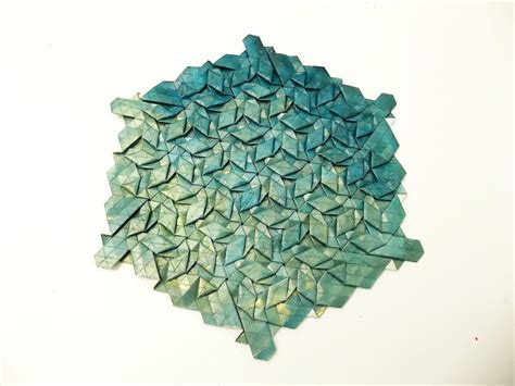 Tesselation Origami - origami tessellation image collections craft decoration