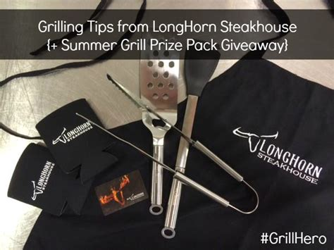 Longhorn Gift Card - grilling tips from longhorn steakhouse gift card giveaway ends 7 14