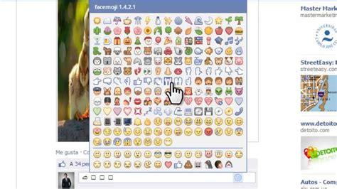 como poner los nuevos emoticones emoji de facebook en tutorial para instalar los nuevos emoticones para el