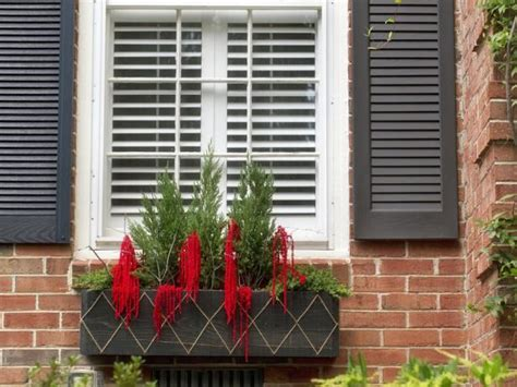 Decorations For Window Boxes by How To Make A Window Box Hgtv