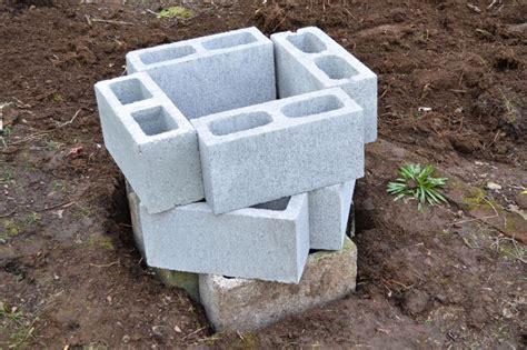 diy pit cinder blocks how to build a cinder block pit