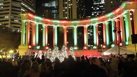 Chicago Christmas Tree Lighting Ceremony церемония Tree Lighting Chicago