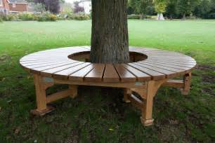 tree bench build a bench around a tree tree seat for war memorial park in romsey hshire september