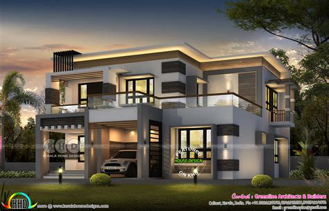 modern contemporary house plans 2018 september 2018 house plans starts here contemporary home kerala home design bloglovin