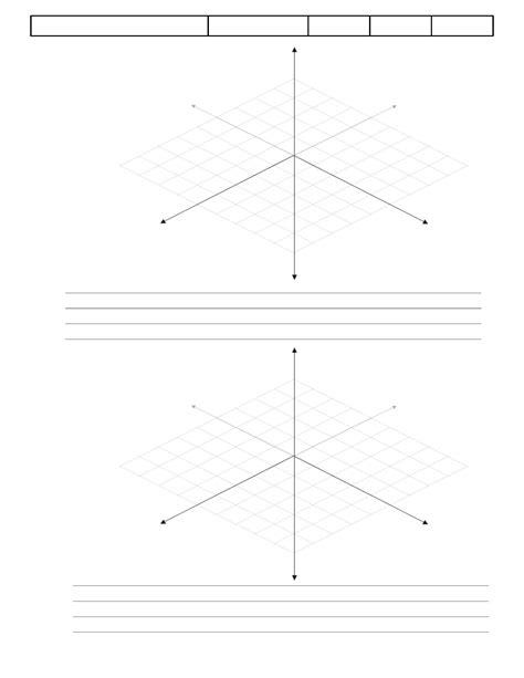 3d graph paper template 3d graph paper template exle free