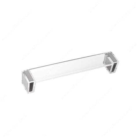 Acrylic Cabinet Pulls by Metal And Acrylic Pull 2172 Richelieu