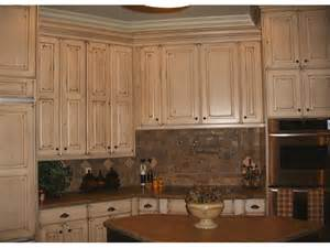 refinished cabinets nantucket white with brown